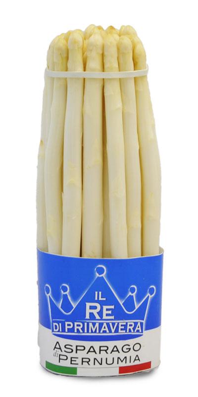 Asparagi Bianchi - calibro 10+ Mazzo da 1Kg - Azienda Agricola Baraldo Luigino - Pernumia Padova