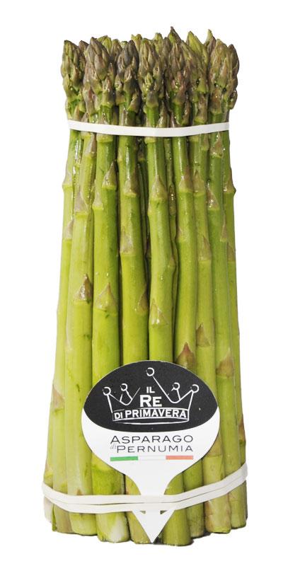Asparagi Verdi - calibro 10+ Mazzo da 1kg - Azienda Agricola Baraldo Luigino - Pernumia Padova
