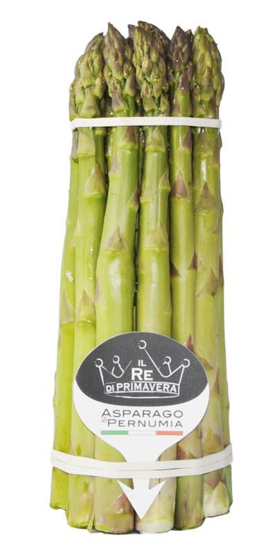 Asparagi Verdi - calibro 16+ Mazzo da 1kg - Azienda Agricola Baraldo Luigino - Pernumia Padova