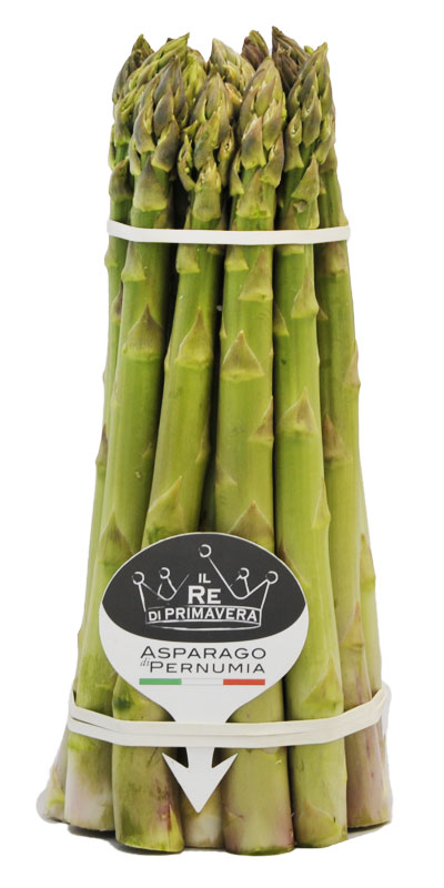 Asparagi Verdi - calibro 22+ Mazzo da 1kg - Azienda Agricola Baraldo Luigino - Pernumia Padova